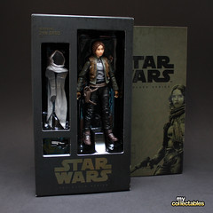 Star Wars Rogue One Black Series Jyn Erso SDCC Special Edition (MyCollectables.ca) Tags: mycollectables actionfigures actionfigure toys toy starwars jyn erso rogue one black series scdd 2016