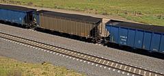 OPPX 900 coal hopper-Henry, Nebraska. (Wheatking2011) Tags: oppx coal hopper omaha public power district nebraska union pacific railroad henry september 2002