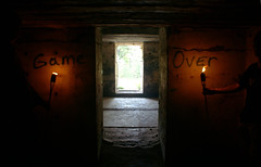 Game Over (binaryCoco) Tags: licht light dunkelheit darkness ruine ruin latvia lettland liepaja game over gameover