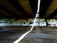 sunray (Peter Schler) Tags: sunray ray sonnenstrahl brcke bridge witten flickr peterpe1