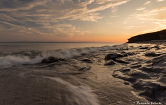 """""""Mer d'amour"""" (pascaleforest) Tags: douceur sunset coucherdusoleil passion landscape paysage parforillon lanseauxamrindiens gaspsie eau water"""