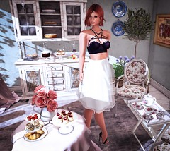 Look # 32 - The bakery shop (alamodealamode) Tags: elikatika foxes fame femme salvadori paris no 21 shiny shabby