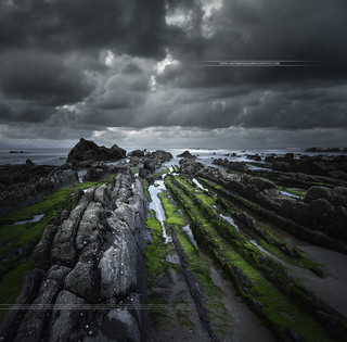 Barrika Beach (Barrica) Spain Basque Country