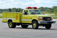 Gary Fire Department Rescue 6 (nick123n) Tags: gary fire department rescue arff airport gyy indana surpressions truck rig station crash emergency urgent lime green