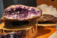(Anupama Nadig) Tags: portland purple stone portlandsaturdaymarket saturday market geode