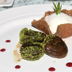 nut filled figs with ice cream (Ian Riley [on the right side of the fence]) Tags: asia turkey eskiehir gaga restaurant