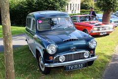 1963 Austin A55 service van (Davydutchy) Tags: ruinerwold oldtimerdag austin a55 55 van bestelwagen service tv7133 august 2016