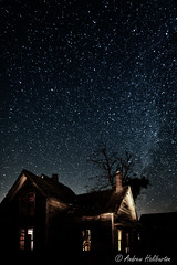 Abandoned Farmhouse 3 (AndrewHaliburton.com) Tags: abandoned andrewhaliburton astrolandscape astronomy astrophotography creepiestplaces derelict dilapidated earthandspace farmhouse goldendale haunted imagination lightpainting longexposure meteor midnight milkyway nwafterdark night nightphotography nightshoot nightsky nikonafnikkor2035mmf28d noctography nocturnes rrsbd700l rrsbh55pcl rrstvc33 reallyrightstuff scariestplaces shootingstar star starry timeexposure urbanlight washington usa