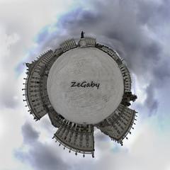 Place Stan - Little Planet (ZeGaby) Tags: pentaxk1 samyang8mm nanyc placestanislas cityscape littleplanet
