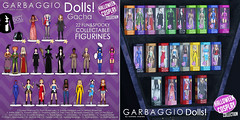 Garbaggio Dolls Halloween Cosplay Collection Gacha Key & Boxes (Ashleey Andrew) Tags: garbaggio sl secondlife second life virtual world original mesh dolls collectable figurines halloween cosplay gacha key the arcade
