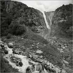 ,  (Yuriy Sanin) Tags:       6x6     yuriy sanin blackandwhite bw mountains waterfall river georgia creek 2016