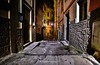 walk in the dark (Rex Montalban Photography) Tags: rexmontalbanphotography manarola italy cinqueterre night alley hdr