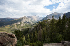 (kecotting) Tags: mountains view outdoors hiking rockymountains rmnp findyourpark nature trees rock canon clouds sky green fall autumn