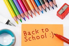 Back to School (WDnet) Tags: school sticky back background note paper post education supplies text student class desk color marker white concept object view group equipment elementary classroom design sheet notes isolated creativity colored top overhead elementaryschool schoolyear crayons coloredpencils vacation highschool d750