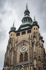 Hradany / St Guy Cathedral (Patrice Faur) Tags: prague stguycathedral cathdrale cathdralestguy chateau chateaudeprague ceska praha hradany 50mmdtf18sony sonya57 sony