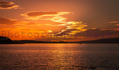 Stunning Colorful Sunset. (Photographer Dave C) Tags: sky stunning sun sea sunset seascape canon colour creative canonofficial cool canon40d creativeart bangor beauty belfastlough mygearandme mymindseye 2016 awesome art autumn