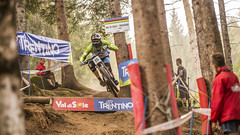 u 001 (phunkt.com™) Tags: uci dh downhill down hill mtb mountain bike world champ championship val di sole italy 2016 photos phunkt phunktcom keith valentine race final finals dust dusty