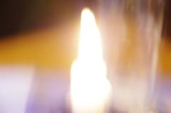 Kerze (hutschinetto) Tags: unscharf