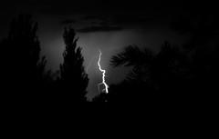 Lightening (Anna Gurule) Tags: lightening lighteningstrike night nightsky nightshots nightclouds stormyskies stormy storm santafe artedgy annagurule annaortizgurule