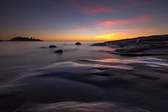 Sunset in Porkkala (tmy81) Tags: longexposure fi porkkala sunset sea finland