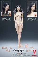 VERYCOOL TOYS VCF-X04 Asian Female Body Set - 01 (Lord Dragon ) Tags: 16scale 12inscale onesixthscale actionfigure doll hot toys verycool female