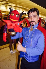 DSC_0640 (Randsom) Tags: nycc 2016 newyorkcomiccon nycomiccon javitscenter october nyc newyorkcity cosplay costume fun comicbooks comicconvention marvelcomics avengers dormammu drstrange puppet cape beard goatee mustache male man guy sorcerer wizard magic portrait