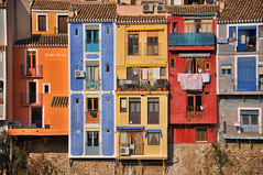 (349/16) Villjoyosa forever (Pablo Arias) Tags: pabloarias photoshop nxd cielo nubes texturas arquitectura edificio colores ventanas balcones villajoyosa alicante comunidadvalenciana