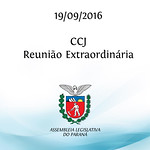CCJ Reuni�o Extraordin�ria - 19/09/2016