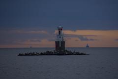 resund Blues II (Rudi Pauwels) Tags: sverige sweden schweden malmo oresund firehouse sunset evening sundayevening clouds bluehour tamron 18270mm tamron18270mm nikon d7100 nikond7100