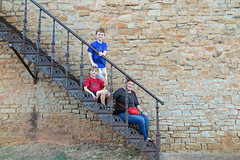 rocktheclockst (babyfella2007) Tags: jason taylor carson grant victorian stair steps staircase rock granite building architecture telephone booth old town winnsboro southern living iron cast road house child boy michelle young brother mother family clock police car officer box shipping