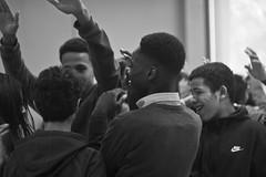 You WILL HEAR Us (Brotha Kristufar) Tags: monochrome monochromatic narrative blackandwhite portrait portraits portraiture people school program academy bronx new york nyc youth indoor indoors young un learning lessons teaching teachers teacher canon culture document documentary practice state exams exam critical progress progression chalk chalkboard love friendship debate skills interview interviewing interviews thinking brain power future you will hear us explore explored exploring page exploration amerikkka