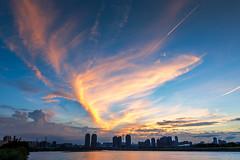 - Fiery sunset (basaza) Tags: canon 30d  1635