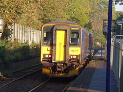 153377 & 153368 Penryn (3) (Marky7890) Tags: gwr 153368 class153 supersprinter 2t69 penryn railway station cornwall train 153377 maritimeline