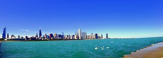 Chicago, beautiful as always.