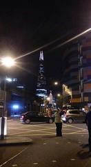 The shard after leaving Southwark Park (C*Fletcher) Tags: shine walk london cruk