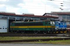 163-078 at Ceska Trebova depot (Karel1999 Over a Million views ,many thanks) Tags: vlak zug locomotives trains diesels ceska trebova