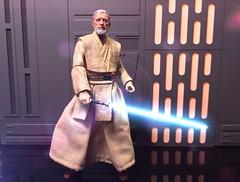 Obi-Wan (chevy2who) Tags: imch six series black figure action toy kenobi obiwan wars star