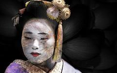 Geisha, Kyoto. (Francesc Candel) Tags: geisha kyoto japn japan kioto girl maiko mujer tradicin tradition