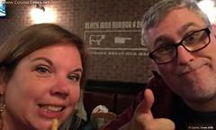 NYCC 2016 68 Dinner at Black Iron Burgers (Cosmic Times) Tags: nycc nycc2016 cosmic times martin pierro heidi hess