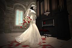 The Vampires Bride (*~~~Amanda~~~*) Tags: zenny secondlife bride vampire drbc whimsy spooky halloween