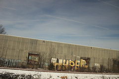 Hyper (NJphotograffer) Tags: graffiti graff new jersey nj trackside rail railroad hyper roller unfinished