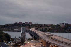 Ropsten1 (Gwallin) Tags: liding sweden stockholm morning dawn clouds sky sea bridge