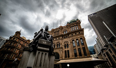 Queen Victoria & Building (Jase in NSW) Tags: nsw nikon sydney street samyang australia 14mm qvb