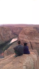 (ohsotrue) Tags: horseshoebend arizona pageaz pagearizona arizonabeauty sunset