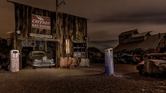 1940s Gas Station (379)_HDR1 (toxictabasco) Tags: eldorado ghosttown nelsonnv lightpainting hdr