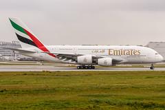 F-WWAB - A6-EUG (MSN 219) Airbus A380-861 Emirates @ Airbus Factory Hamburg Finkenwerder (EDHI / XFW) / 19.10.2016 (oliver.holzbauer) Tags: fwwab a6eug msn219 airbus airlines a380 emirates edhi xfw hamburg finkenwerder planespotter planespotting planes planephotography flughafen flugzeug linienflugzeug runway18 runway18de
