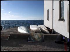 du nord (thomaskrumm) Tags: art colors beach kanu kunst street horden limfjord fjord danisk dnemark jtland