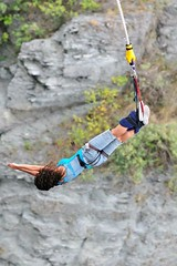 """Second #bungeejumping at the #Kawaraubridge in Queenstown, New Zealand. #itravelanddance March 2010 • <a style=""""font-size:0.8em;"""" href=""""http://www.flickr.com/photos/147943715@N05/30159705325/"""" target=""""_blank"""">View on Flickr</a>"""