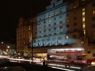 Queens Hotel - Light Night