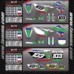 """New Semi Custom Graphic Kit - FAMmx Design Kawasaki Blitz Graphics. Check out our website at www.fammx.com for other graphic kits and more information. <a style=""""margin-left:10px; font-size:0.8em;"""" href=""""http://www.flickr.com/photos/99185451@N05/30187272052/"""" target=""""_blank"""">@flickr</a>"""